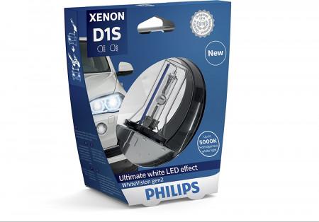 Ampoule Xénon D1S Philips WhiteVision gen2