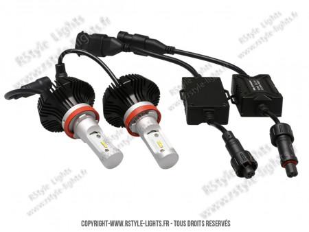 Kit Ampoules H8 Led Vision