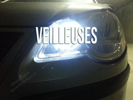 Veilleuses Blanc Pur pour BMW Serie 3 E30