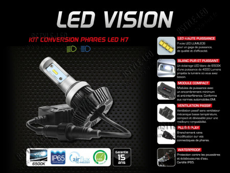 Kit Ampoules H7 Led Vision - RSLights