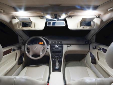 Pack Full Led intérieur Mercedes Classe E W211