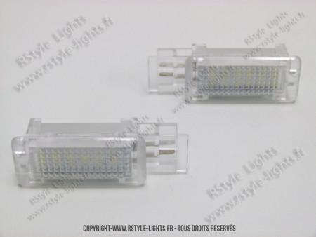 Blocs lampes Led d'éclairage intérieur MERCEDES TYPE 1