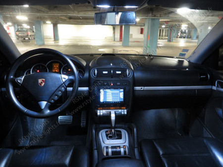 Pack Full Led intérieur Porsche Cayenne