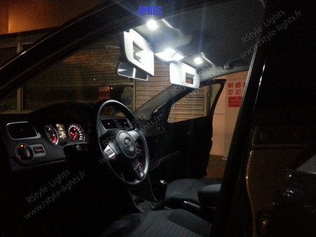 Pack Full Led intérieur Polo 6R