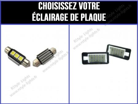 Eclairage de plaque d'immatriculation Audi A8 D3