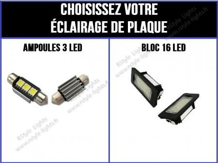 Eclairage de plaque à Led pour Porsche Cayenne