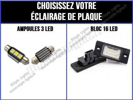 Eclairage de plaque à Led pour Touareg 7L