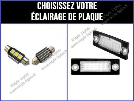 Eclairage de plaque à Led pour Touran V1/V2