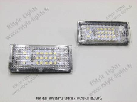 Blocs lampes Led d'éclairage de plaque BMW E39 BREAK
