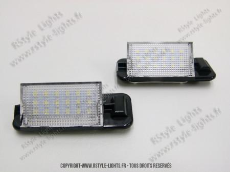 Blocs lampes Led d'éclairage de plaque BMW Serie 3 E36