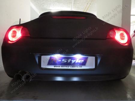 Eclairage de plaque à Led  pour Mercedes SLK R170