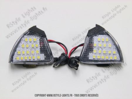 Blocs lampes Led d'éclairage accés Rétroviseur Volkswagen type G5