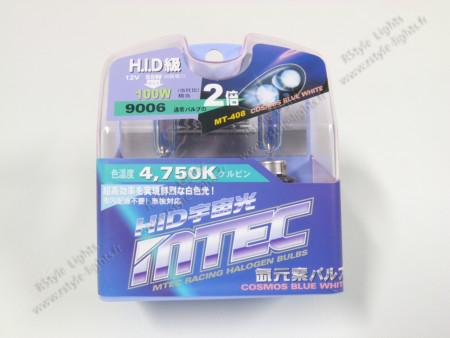 Pack 2 ampoules HB4 Effet Xénon - Mtec - Cosmos Blue