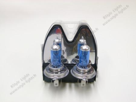 Pack ampoules H4 Effet Blanc Xénon