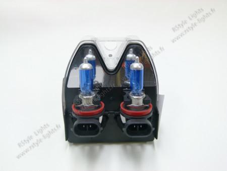 Pack ampoules H8 Effet Blanc Xénon