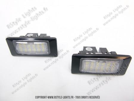 Blocs lampes Led d'éclairage de plaque AUDI TYPE Q5