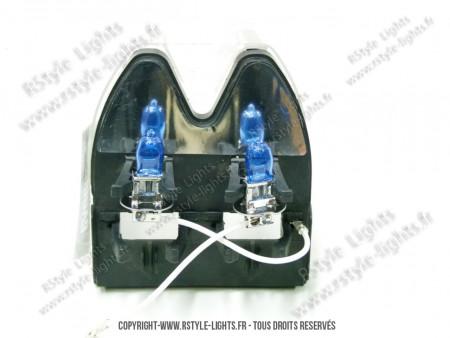 Pack ampoules H3 HOD Blanc Xénon