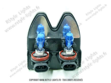 Pack ampoules H11 HOD Blanc Xénon