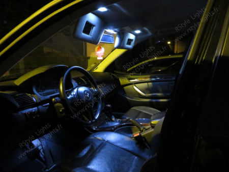 Pack Full Led intérieur BMW X5 E53