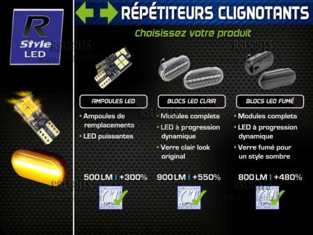 Répétiteurs Clignotants Latéraux LED - Seat IBIZA 6J