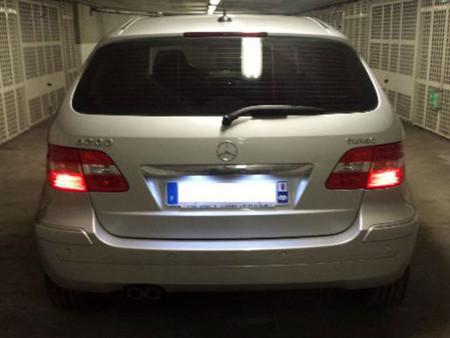 Eclairage de plaque à Led  pour Mercedes Classe E  W124