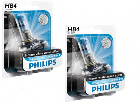Ampoules HB4 Philips WhiteVision