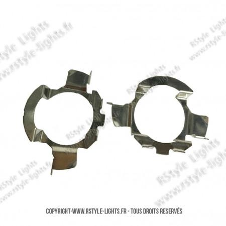 Adaptateurs Portes Ampoules LED H7 - Toutes Marques Type 2