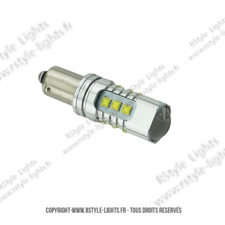 Ampoule Led H6W - CREE High Watt - Anti Erreur