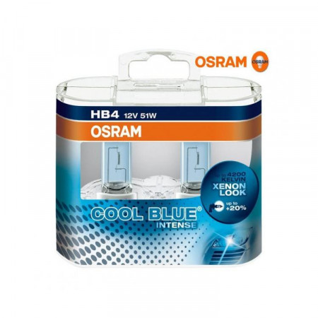 Ampoules HB4 Osram Cool Blue Intense