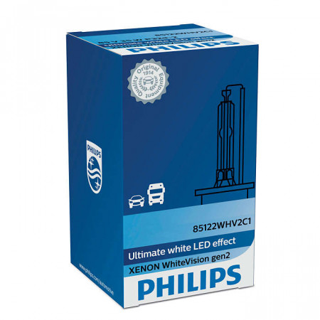 Ampoule Xénon D2R Philips WhiteVision gen2
