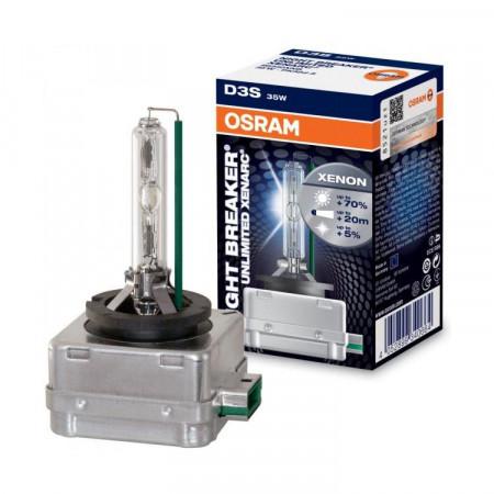 Ampoule Xénon D3S Osram XenArc Night Breaker