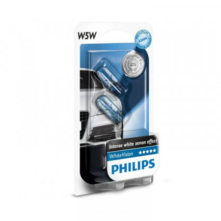 Ampoules W5W Philips WhiteVision
