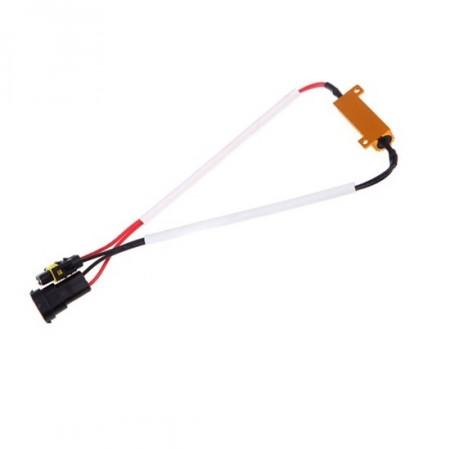 Résistance LED H10 HB3 HB4 50W - Anti erreur