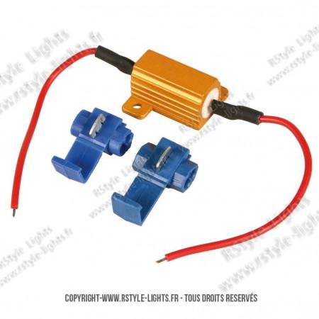 Résistance 25W Ampoule LED - Anti-erreur