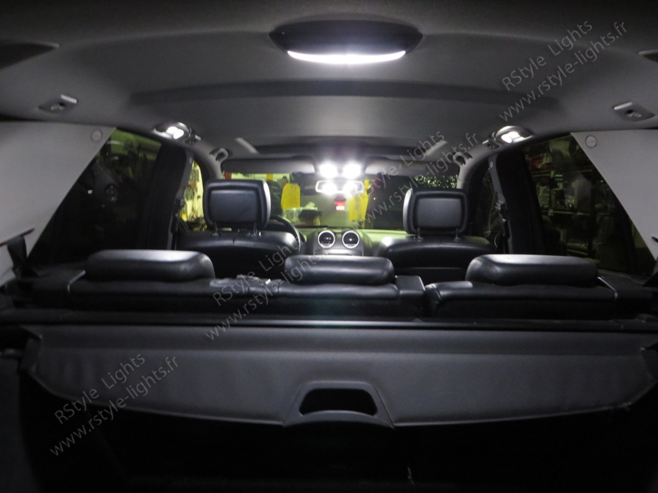 Pack full led int rieur mercedes ml w164 for Interieur 78