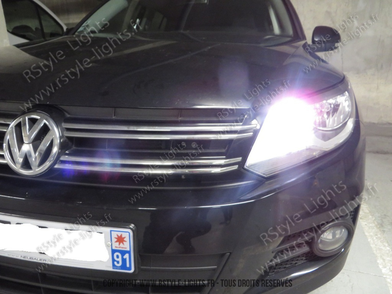 ampoules led phares h15 feux de jour veuilleuses feux route led volkswagen tiguan phase 2. Black Bedroom Furniture Sets. Home Design Ideas