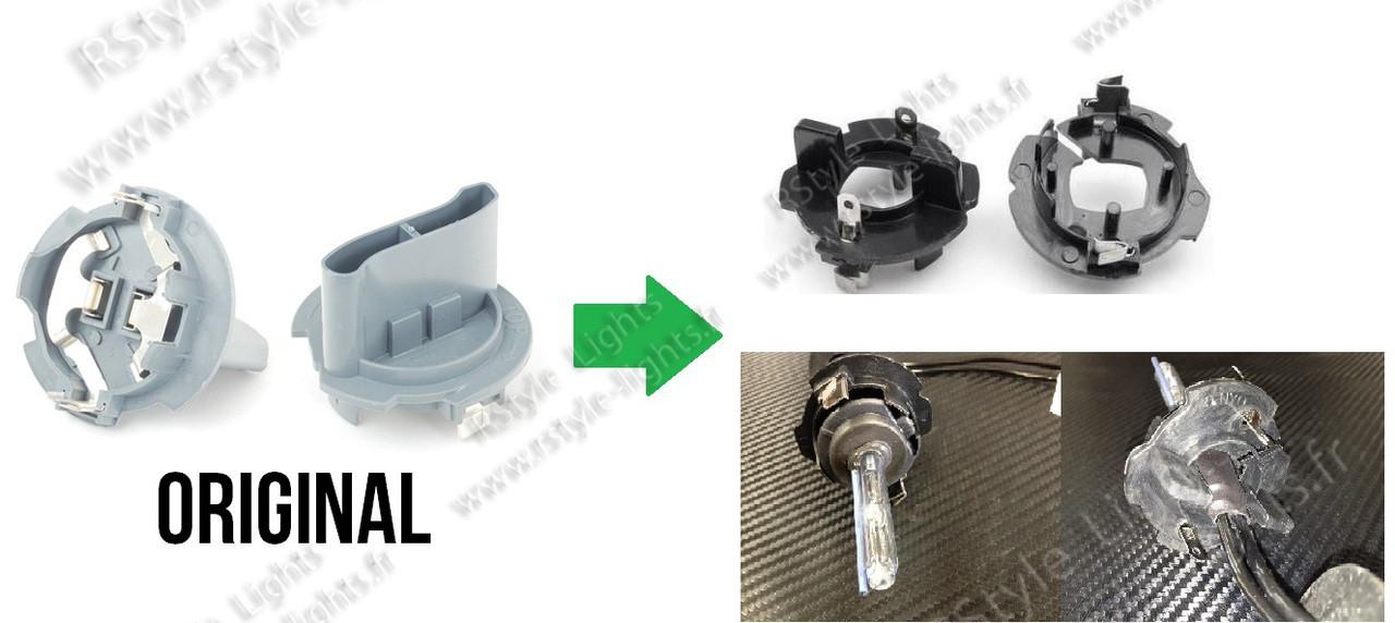 adaptateurs ampoules kit x non h7 hid golf 5 touran 1t1. Black Bedroom Furniture Sets. Home Design Ideas
