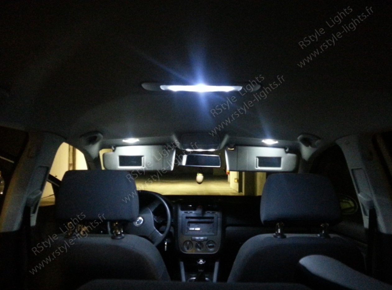 pack full led int rieur vw golf plus. Black Bedroom Furniture Sets. Home Design Ideas
