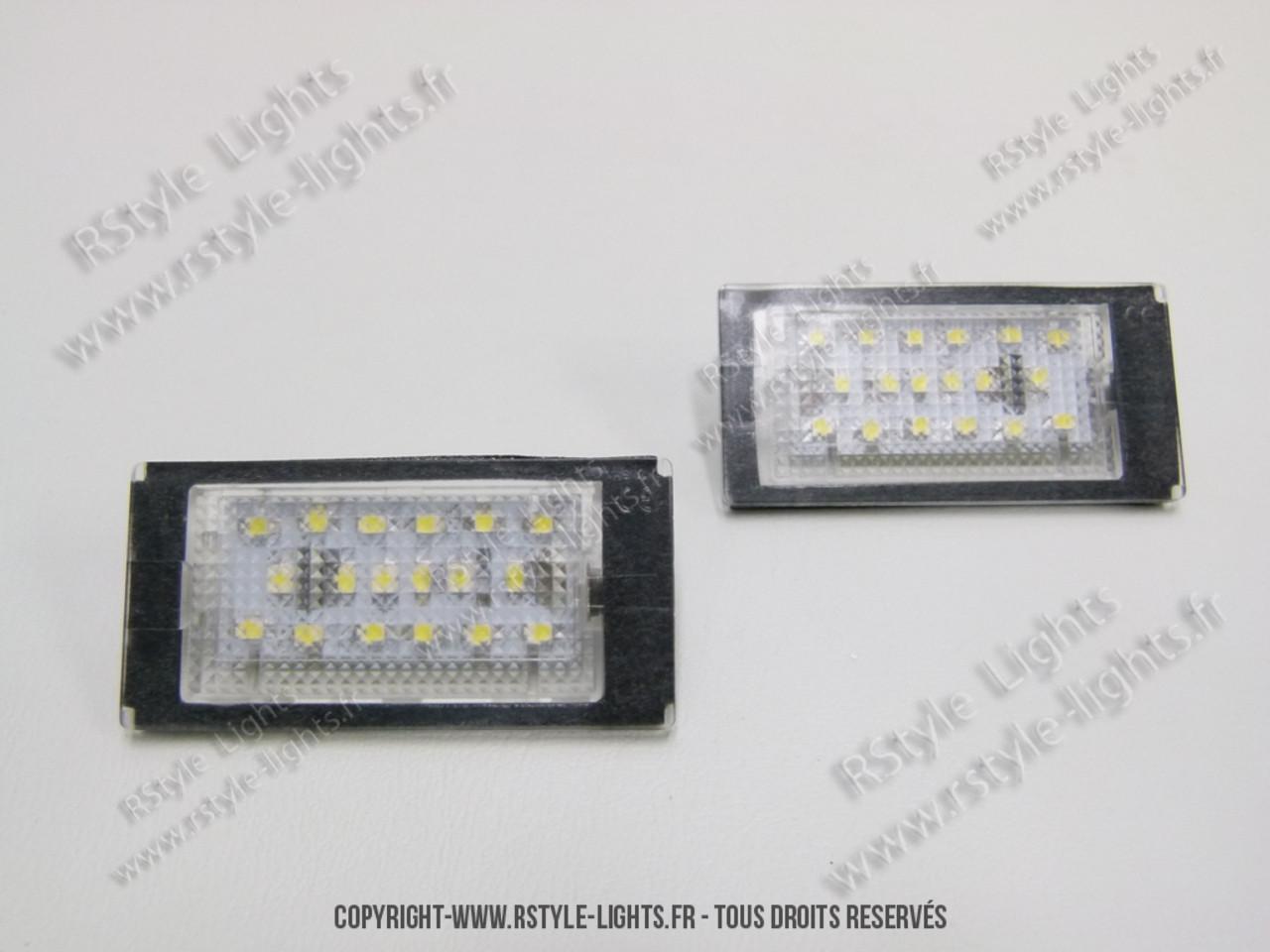 Série E46 Coupé 3 Lampes Plaque D'éclairage De Bmw Blocs Led uZiTOwPkX