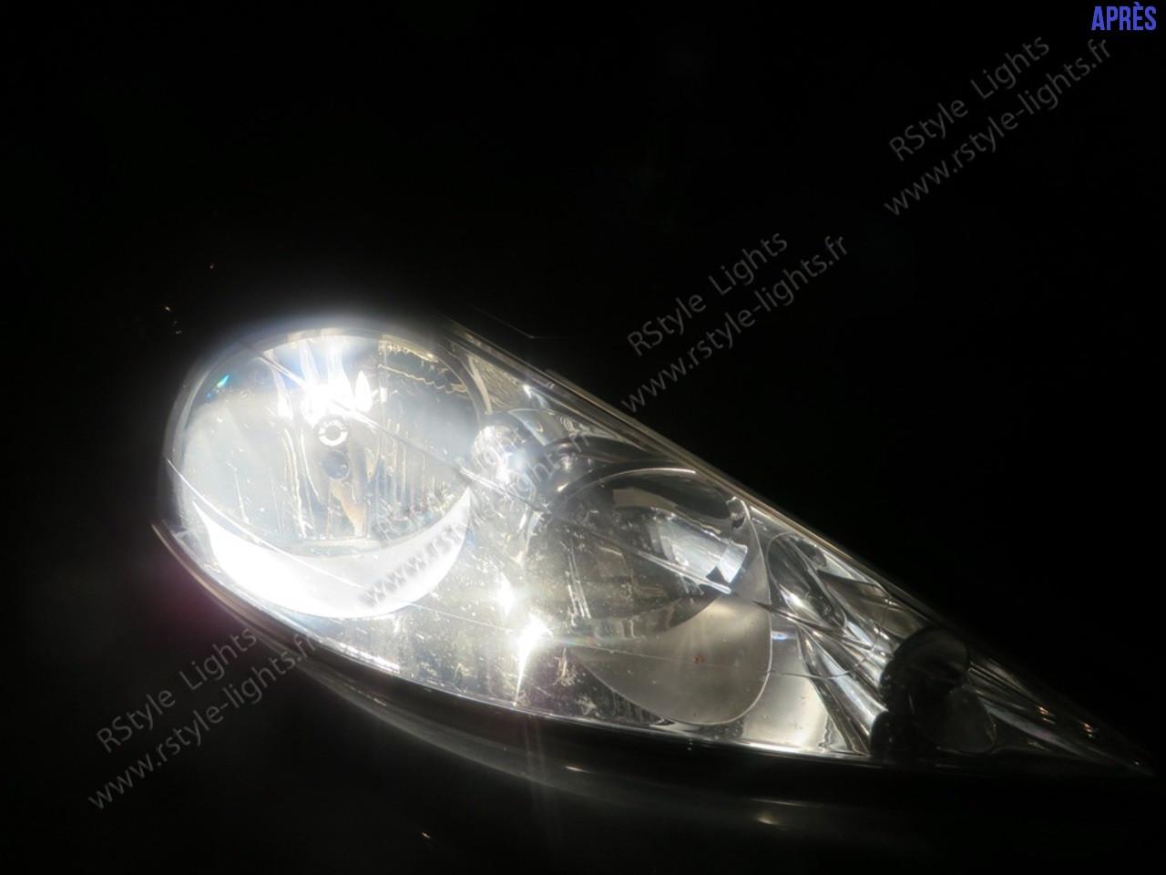 pack 2 ampoules h7 xenon effect ampoules 12v auto moto. Black Bedroom Furniture Sets. Home Design Ideas