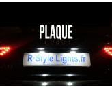 Eclairage de plaque d'immatriculation Audi A5 Facelift