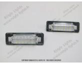 Blocs lampes Led d'éclairage de plaque MERCEDES Classe E W210 - Classe C W202