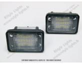 Blocs lampes Led d'éclairage de plaque MERCEDES GLK X204