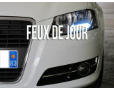 Feux de Jour Blanc Pur pour Audi A5-8T Facelift