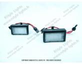 Blocs lampes Led d'éclairage de plaque MERCEDES ML W164 PHASE 2