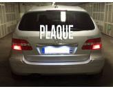 Eclairage de plaque d'immatriculation Mercedes CLS W219