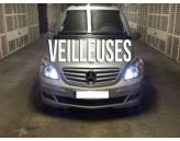 Pack Veilleuses  Blanc Pur pour Mercedes SLK R171