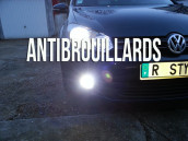 Pack Anti Brouillards Led pour Volkswagen  Golf 6
