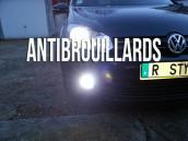 Pack Anti Brouillards Led pour Volkswagen  Golf 6