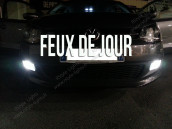 Feux de Jour Blanc Pur pour VW Jetta 5C